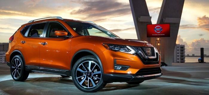 новый Nissan X-Trail 2018